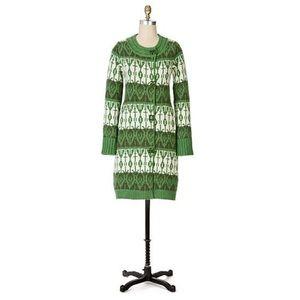 Anthropologie Sparrow Pine Cricket Sweater Coat L